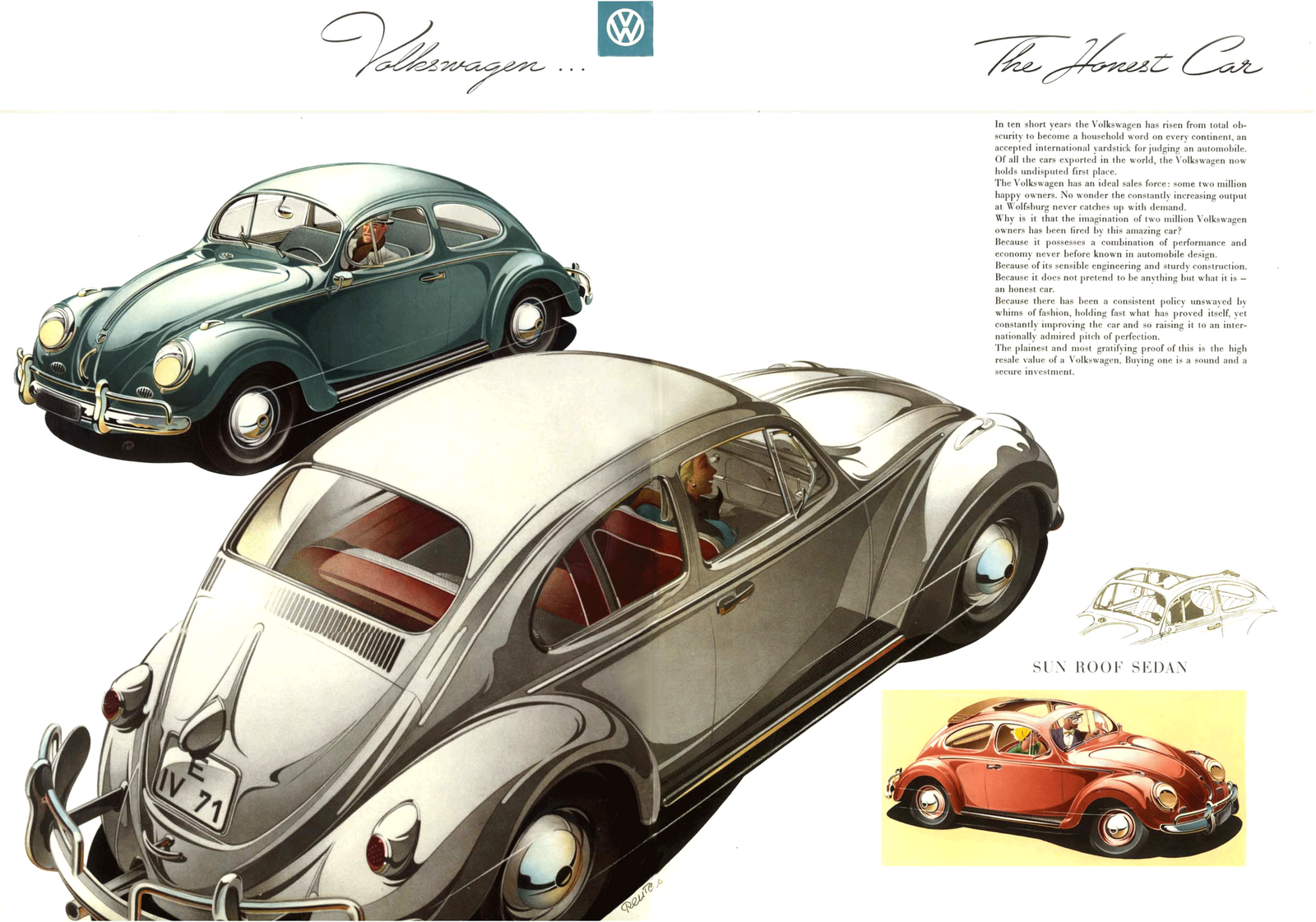 Condon Skelly | Classic Car Insurance: History of the VW Beetle